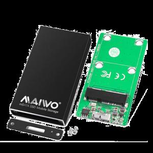 Externt kabinett M.2 SSD till USB-C Adapter