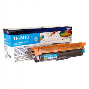 Brother Toner TN-241C Cyan 1400 sidor Original