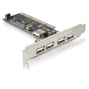 Kontrollkort PCI USB 2.0 5-port