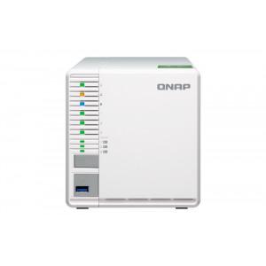 QNAP TS-332X NAS Torn Nätverksansluten (Ethernet) Grå, Vit