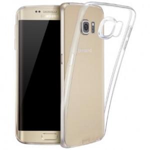 Skal - Samsung S6 - genomskinlig slim silikon