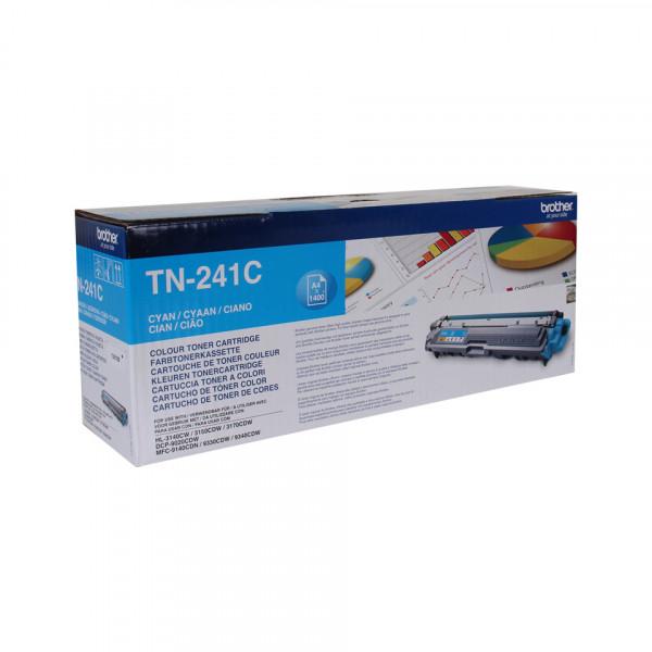 Brother TN-241C Tonerkassett Laserpatron 1400 sidor Cyan