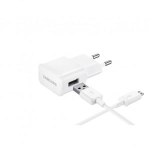 Laddare USB Adapter + Kabel Samsung Original Kit