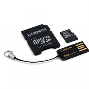 microSDHC 32GB Class 10 - Kingston +SD+USB-Adapter