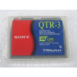 Sony Band Travan QTR-3 228.6m 1.6/3.2GB