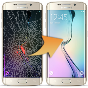 Skärmbyte Samsung Galaxy S7 Edge Glasreparation Skärmbyte-GLX-S7Edge