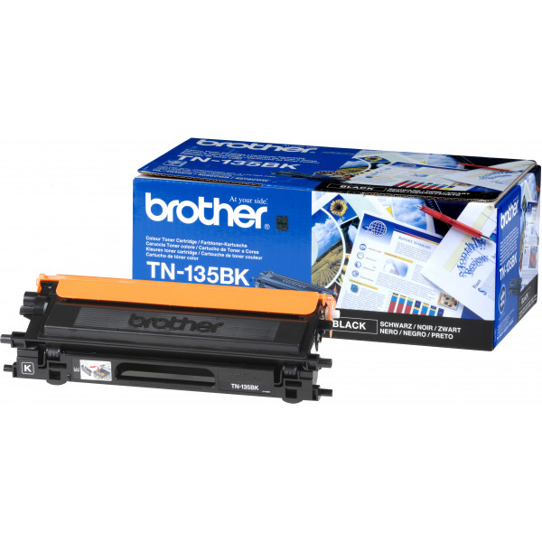 Brother Toner TN-135BK 5000sid Black (Original)
