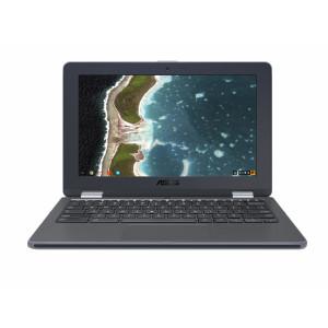 Bärbar dator 11.6 1366 x 768pixlar Pekskärm 1.10GHz N3350 Grå Hybrid (2-i-1) ASUS Chromebook Flip C213NA-BU0038