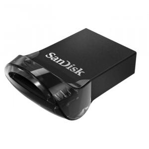 Sandisk Ultra Fit USB-sticka 128 GB 3.1 (3.1 Gen 1) USB A-typ kontakt Svart