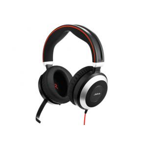 Headset Jabra Evolve 80 MS Stereo Binaural Huvudband Svart