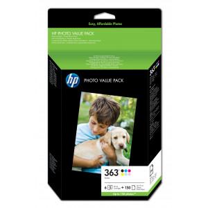 HP 363 value pack 10x15cm BLISTER