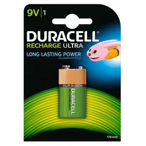 Batteri HR9V Laddningsbara 170mAh - Duracell