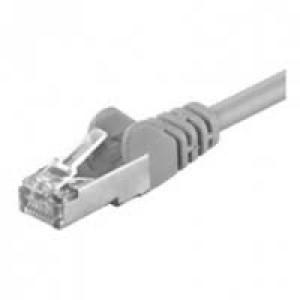 Nätverkskabel Cat5e  (5m) FTP Grå.