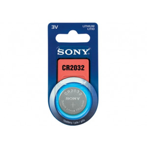 Batteri CR2032 Knappcellsbatteri Lithium 3V Sony CR2032B1A