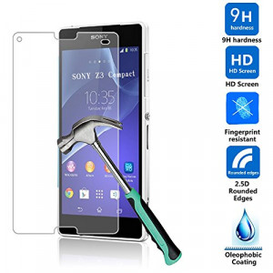 glasskydd sony xperia z3 compact