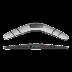 J5 create JUD481 USB 3.0 Boomerang station, 4x USB 3.0, 1x HDMI, Alu JUD481