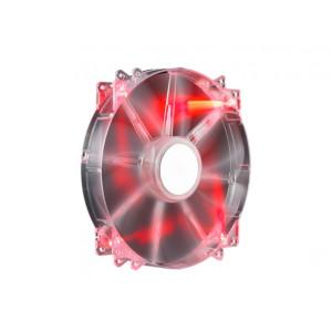 Fläkt 200mm - Cooler Master MegaFlow red LED