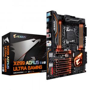 Gigabyte X299 AORUS Ultra Gaming Intel X299 LGA 2066 ATX moderkort