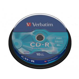 Verbatim CD-R 52X (10-pack) spindel Extra Protecti