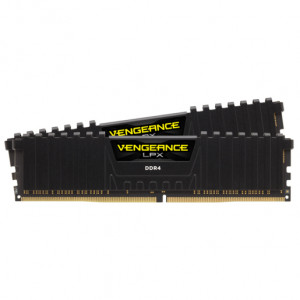 DDR4-2933 Corsair V LPX 16GB DDR4 Black 2x288, 3466MHz