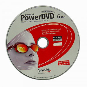 CyberLink PowerDVD 6 OEM CD