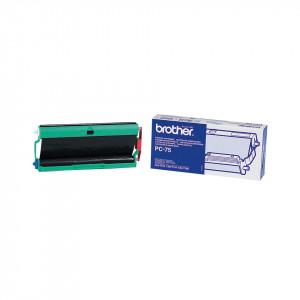 Brother PC-75 Fax cartridge + ribbon 144sidor Svart 1styck förbrukningsvara till telefax