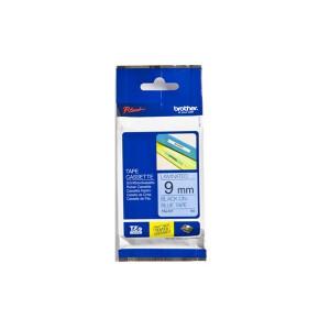 Brother TZe-521 etikett-tejp Svart på blått