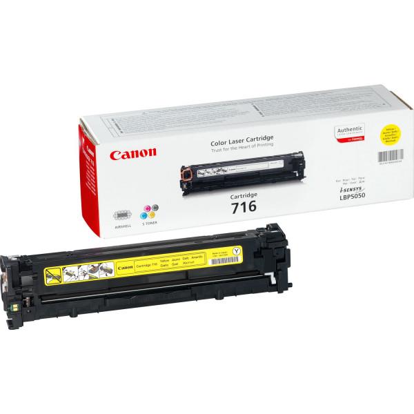 Canon 716 Y Laserpatron 1500sidor Gul
