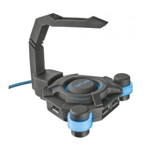 Mus Bungee - Trust GXT 213 USB Hub & Mouse Bungee