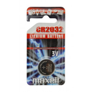 Batteri CR2032 - Maxell Lithium 3V