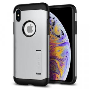 "Spigen New iPhone 6.5"" Case Slim Armor Gunmetal 065CS25153"