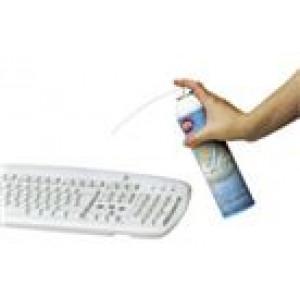 Tryckluft flaska 400ml Rengör med luft
