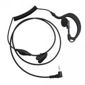 Headset - Ear Plug Pro Mono 2.5mm med spiral HS-0001