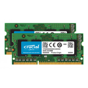 SODIMM DDR3-1600 Crucial 8GB PC3-12800 Kit 8GB DDR3 1600MHz RAM-minnen