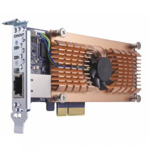 QNAP QM2-2P10G1T Intern PCIe,RJ-45 nätverkskort/adapters