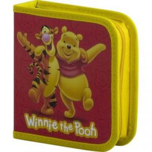 Förvaringsväska för 32 skivor Disney Nalle Puh
