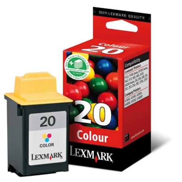 Lexmark 120 (nr 20) Color (Original).
