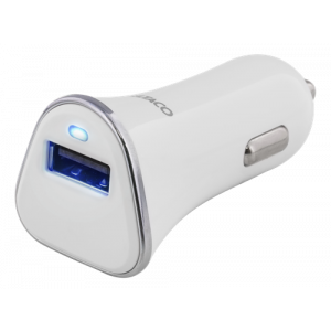 1 Port USB 2,4A Vit