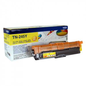 Brother TN-245Y Laser cartridge 2200sidor Gul lasertoners & patroner