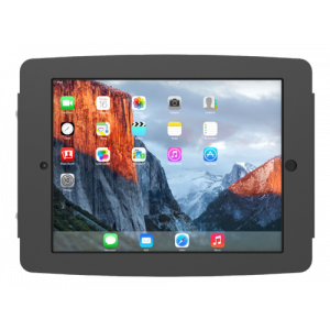 "iPad Pro 10.5"" Secure Space Enclosure Wall Mount Black"