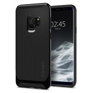 Spigen Galaxy S9 Case Neo Hybrid Shiny Black