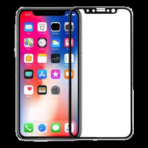 iPhone X / Xs ultra clear glass black