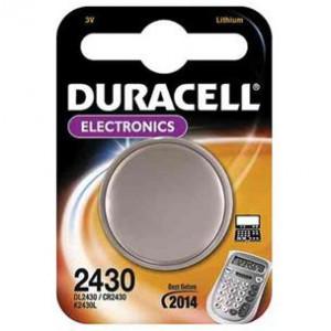 Batteri CR2430 - Duracell Lithium 3V
