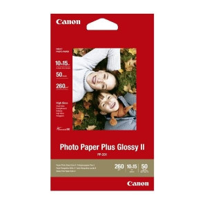 Fotopapper A6 10x15 260g Glossy Canon PP-201 50st