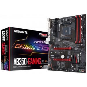 Moderkort Gigabyte GA-AB350-Gaming AMD B350 Socket AM4 ATX moderkort