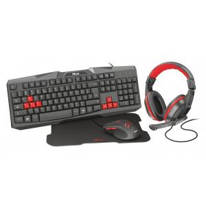 Gaming Kit -Tangentbord + Headset + Mus + Musmatta