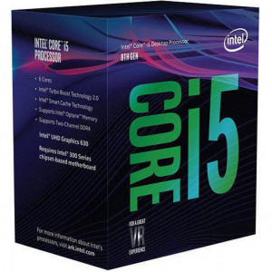 Processor - Intel S1151 i5-8600K 3.6GHz BOX