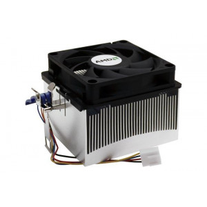 2ZQ99-049 Foxconn AMD Athlon 64 Socket A Heatsink & Fan Refurbished