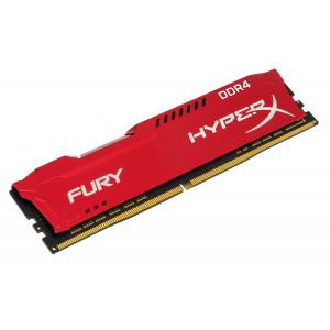 Kingston 16GB 2400MHz DDR4 CL15 DIMM HyperX FURY Red