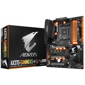 Moderkort Gigabyte AX370-Gaming K5 AMD X370 Socket AM4 ATX moderkort